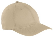 Khaki Flexfit Biowashed Hat